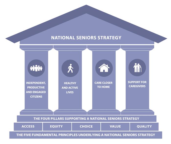 National Seniors Strategy Pillars